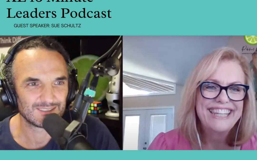 XL 10 Minute Leaders Podcast with Susan Schultz